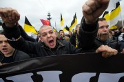 Nationalists march in Moscow