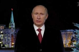 Putin addressing the nation
