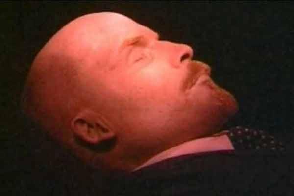 Lenin's body