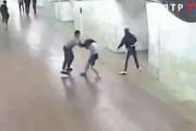 Shooting in the metro