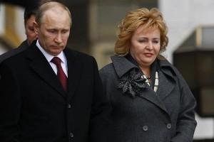 Vladimir and Lyudmila Putin