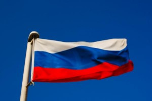 Flag for Russia Day