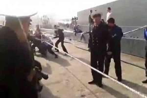 Russian vs American sailors