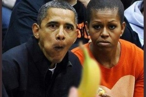 Racist picture of Barack Obama & Michelle