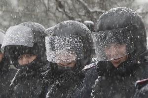 Ukrainian riot police