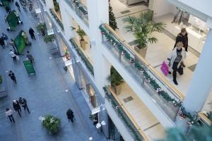 A shopping centre in Riga