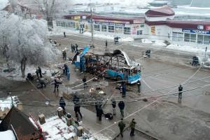 Explosion in Volgograd